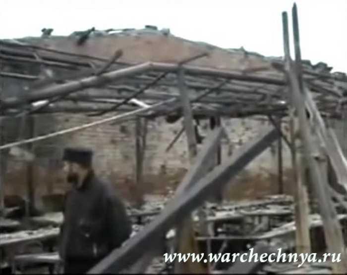 Вторая чеченская война. Последствия ракетного удара по Грозному. 21 октября 1999 г.