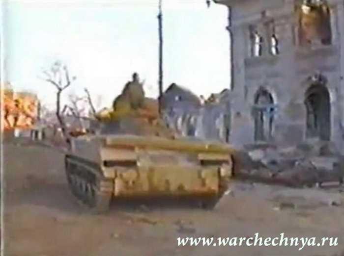 Первая чеченская война. Штурм Грозного. 1995 г. 119 ПДП ВДВ