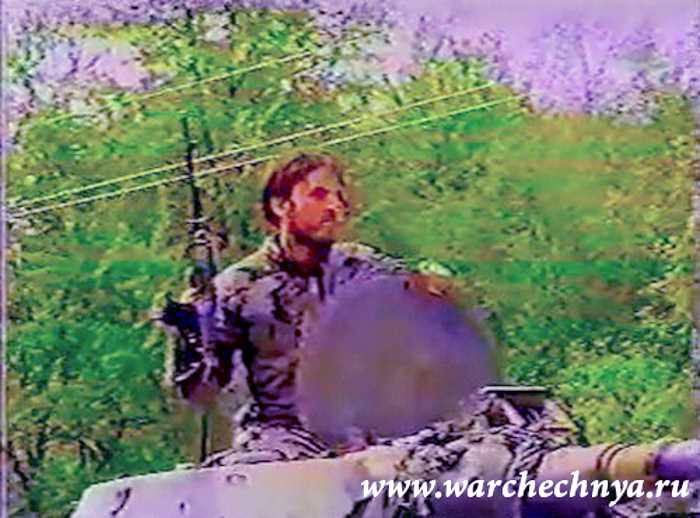 Тренировочный лагерь чеченских боевиков