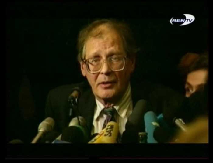 Сергей Ковалев во время войны в Чечне