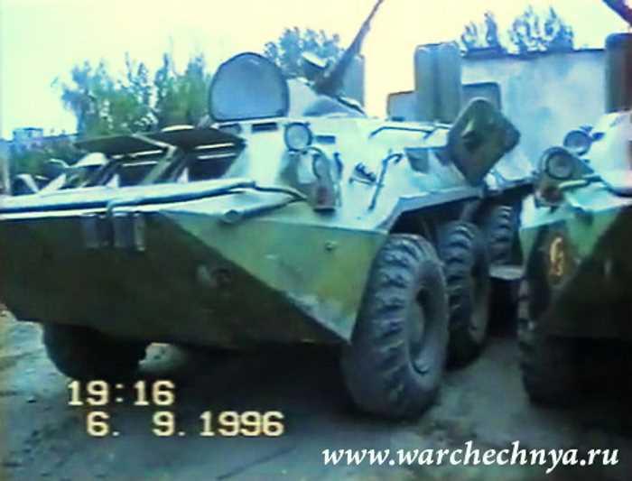 Первая чеченская война. ст. Калиновская. 101 Бригада. 1996 год