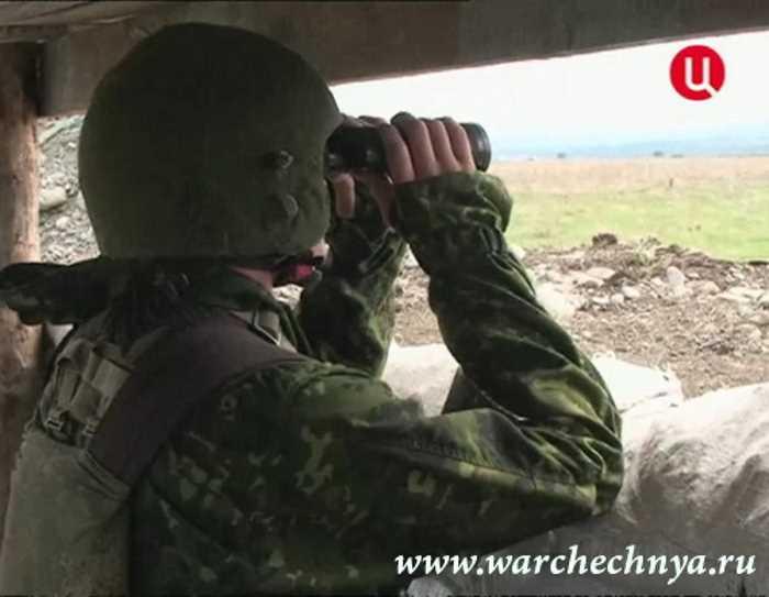 Заставы и заслоны частей внутренних войск в Чечне и Ингушетии