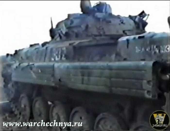 Первая чеченская война. 245 МСП