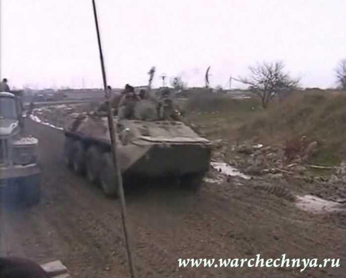 Первая чеченская война. 30 марта 1996. Сержень-Юрт. 104 гвардейская ВДД