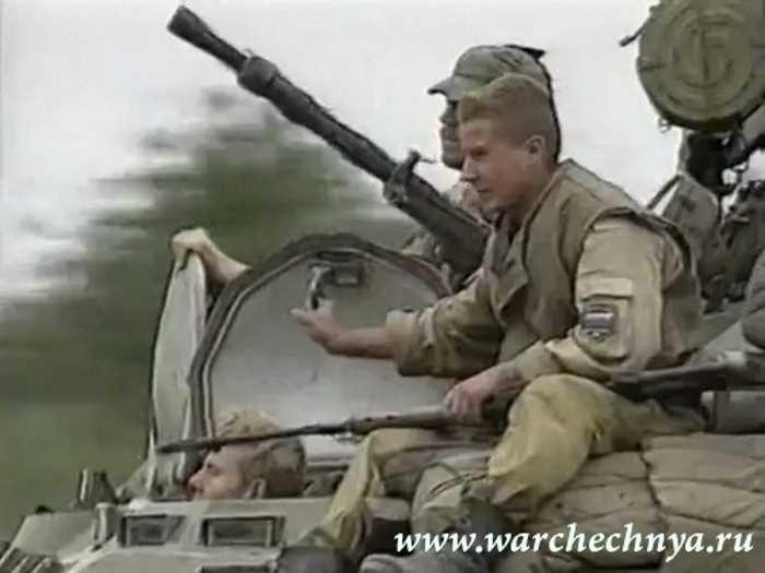 Вторая чеченская война. Медведь