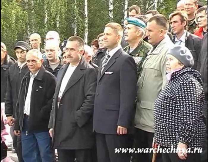 Встреча ветеранов боевых действий в Удмуртии. Сарапул, 2011 г.