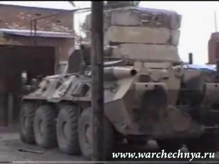 Вторая чеченская война. Грозный. 2004 г
