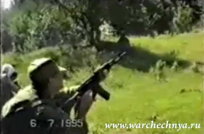 Подрыв на фугасе в с. Мескеты. Чечня. 6 июля 1995 года
