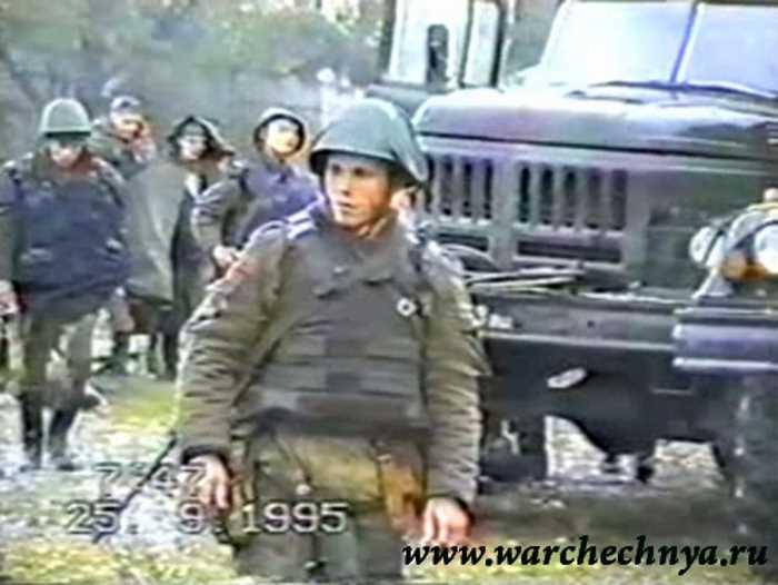 Первая чеченская война. Командировка в Чечню в/ч 6662