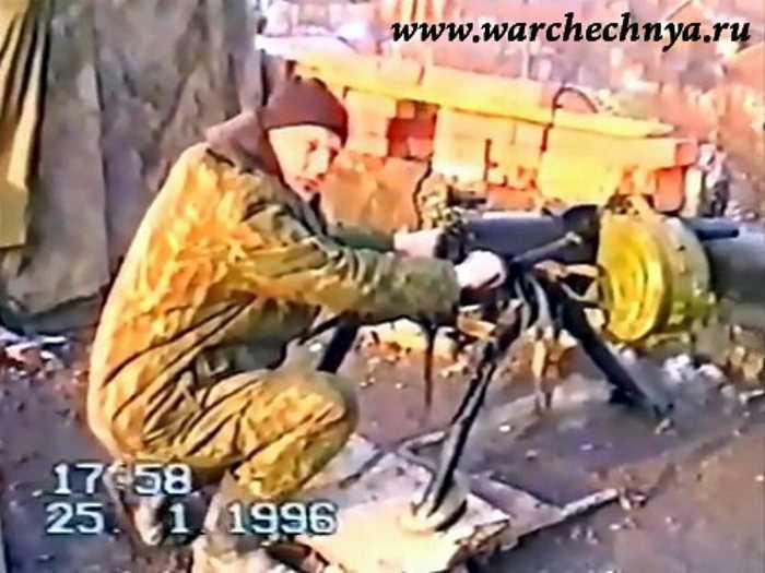 Первая чеченская война. 1995-1996 гг.