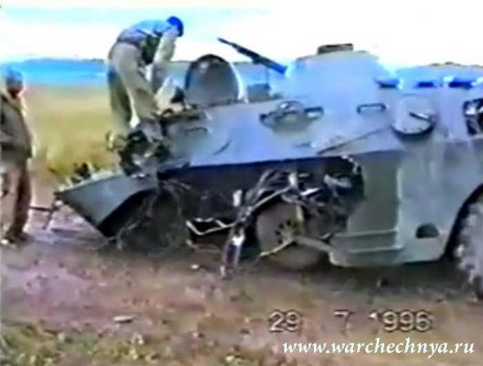 Первая чеченская война. Разведка 1398 ОРБ, г.Грозный, 1996 г.
