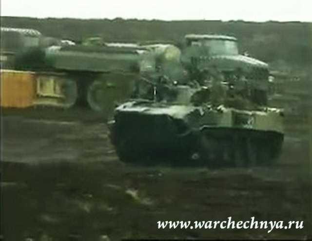 Призывники для Чечни