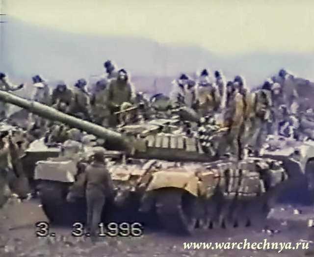 Первая чеченская война. Штурм Серноводска 03.03.1996.