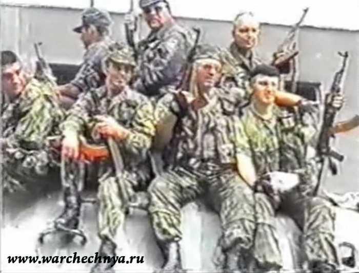 Зарисовка. Грозный. 2000 г. Вторая чеченская война