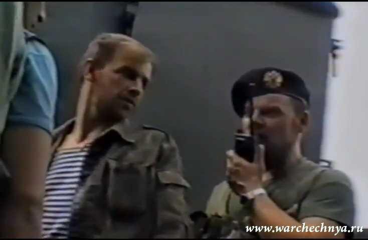 ОМОН в Грозном. Первая чеченская война