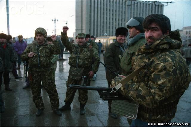 Чечня. Грозный. Фото с 1 по 22 декабря 1994 года