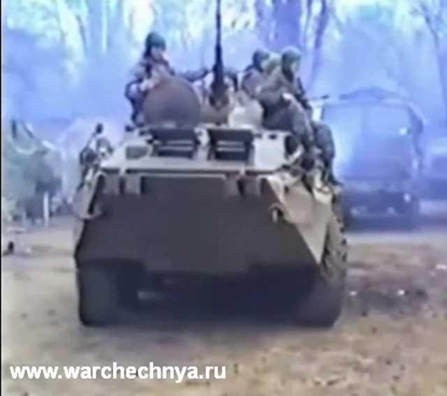 """Спецназ """"Русь"""" в Чечне. Первая чеченская война. 1995 г"""
