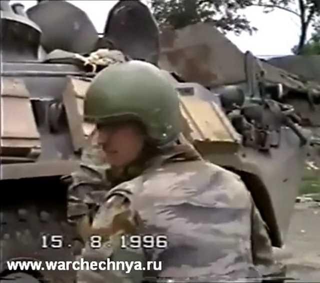 """Спецназ """"Русь"""" в Чечне. Первая чеченская война. 1996г."""