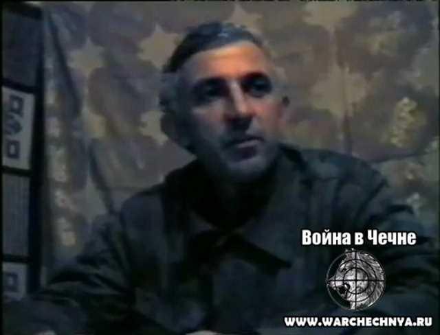 Масхадов. Грозный. Первая чеченская война