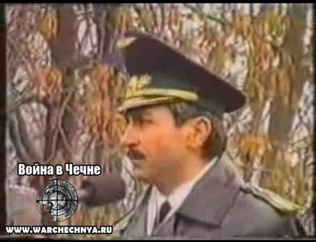 Выступление Джохара Дудаева в Грозном