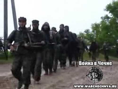 Чечня. Видео боевиков Басаева