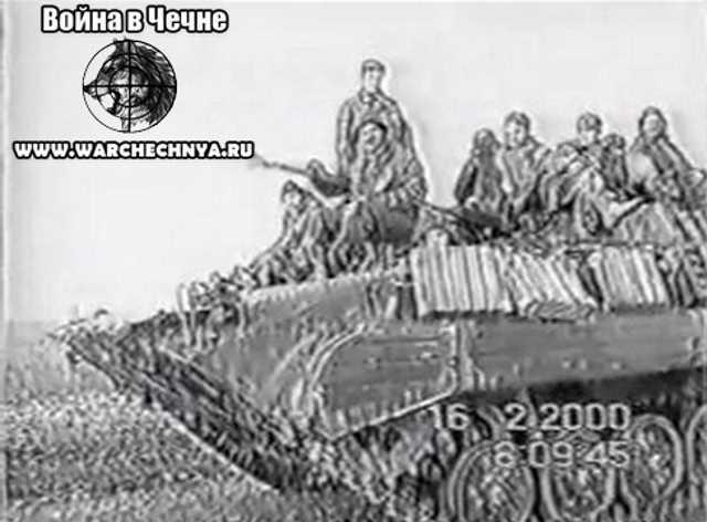 Вторая чеченская война. 752 полк. Грозный