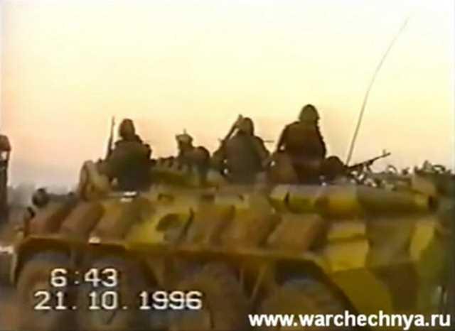Первая чеченская война. Гудермес. 33 ОБрОН ВВ МВД РФ. 1996 г