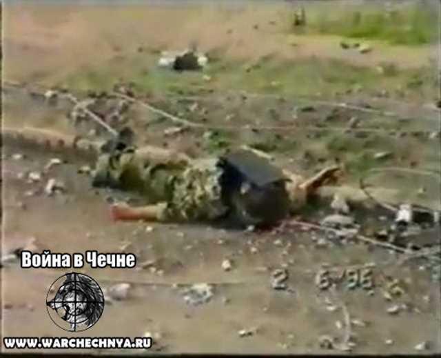 Первая чеченская война. Тувинский ОМОН. Чечня, Грозный. 1996 год