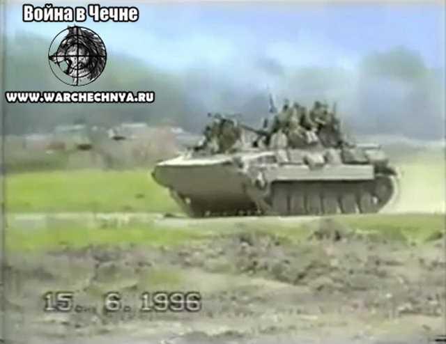 Первая чеченская война. 506 МСП. Веденский район. Чечня. 1996 г.