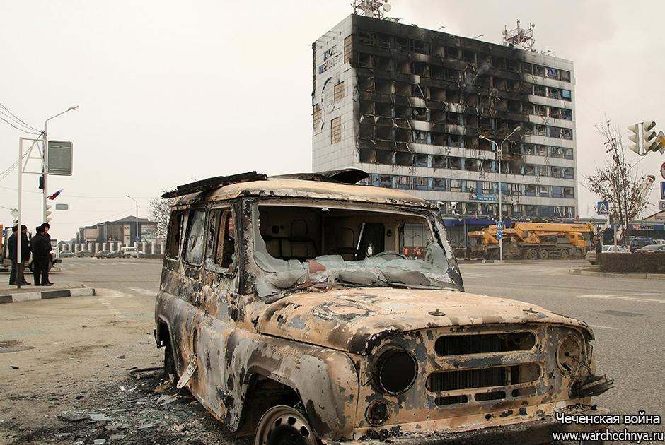 Нападение боевиков на Грозный 4 декабря 2014 г.