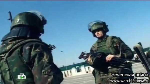 Смотр. 46 Бригада ВВ в Чечне
