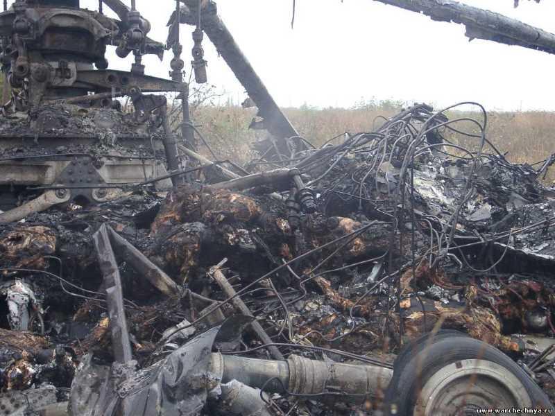 Ми-26 в районе военной базы Ханкала