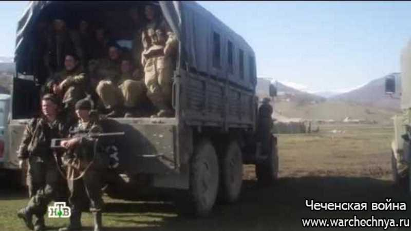 """Вторая чеченская война. Отряд спецназа """"Вятич"""""""