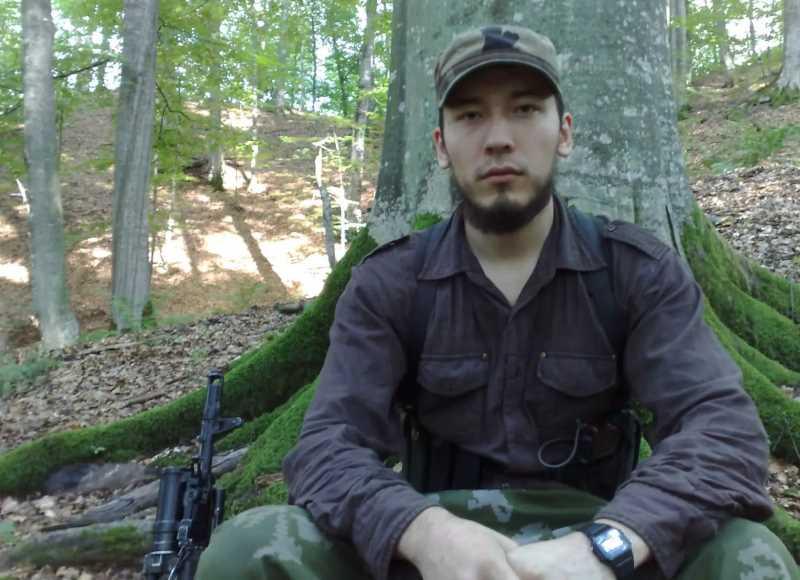 Александр Тихомиров, он же Саид Бурятский. Убит в ходе спецоперации