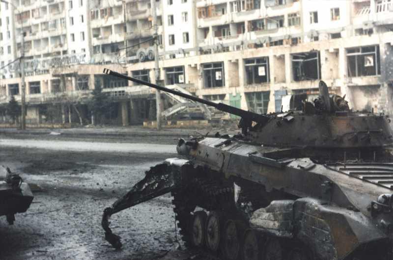 Хроника войны в Чечне. Первая Чеченская война. 1994-1996