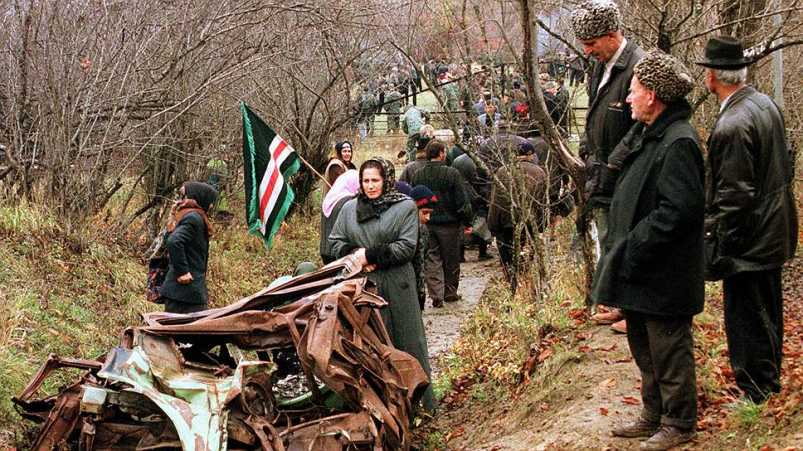 21 апреля 1996 был ликвидирован Джохар Дудаев