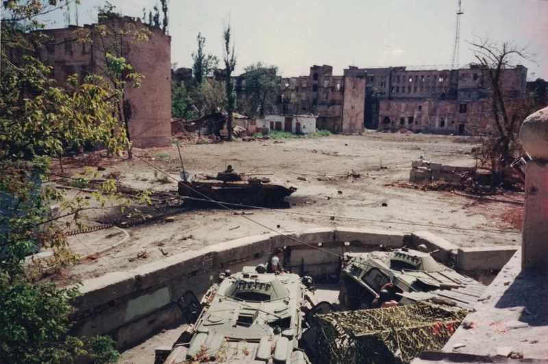 Операция «Джихад», Грозный, август 1996