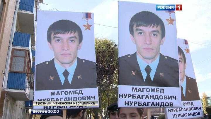 В Грозном появилась улица имени Героя России Магомеда Нурбагандова