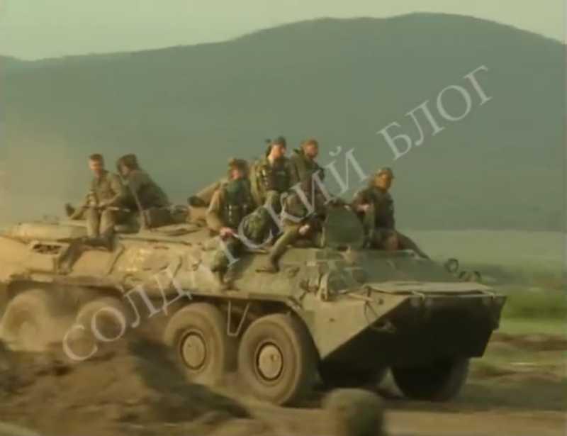 Первая чеченская война. Штурм Бамута. Май, 1996г.