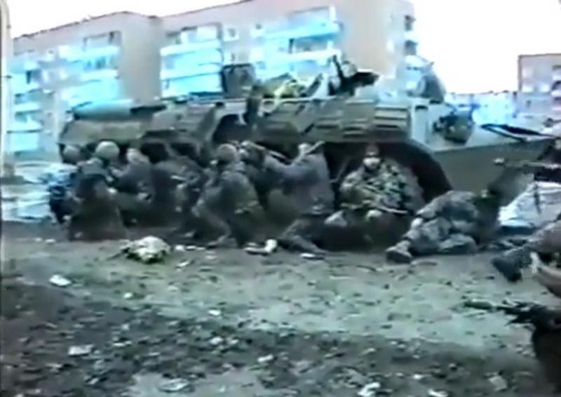 Первая чеченская война. Уфимский СОБР. Март 1996 год