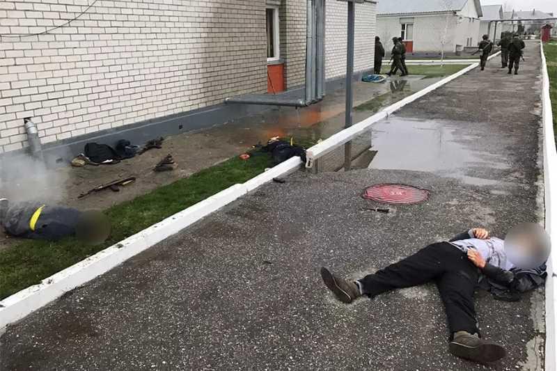 Силовики в Чечне установили организатора мартовского нападения на полк Росгвардии