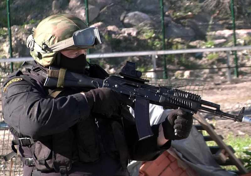 Один боевик убит в перестрелке в Дагестане