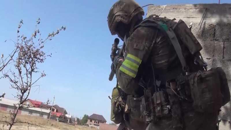 В ходе спецоперации в Хасавюрте ликвидированы два бандита
