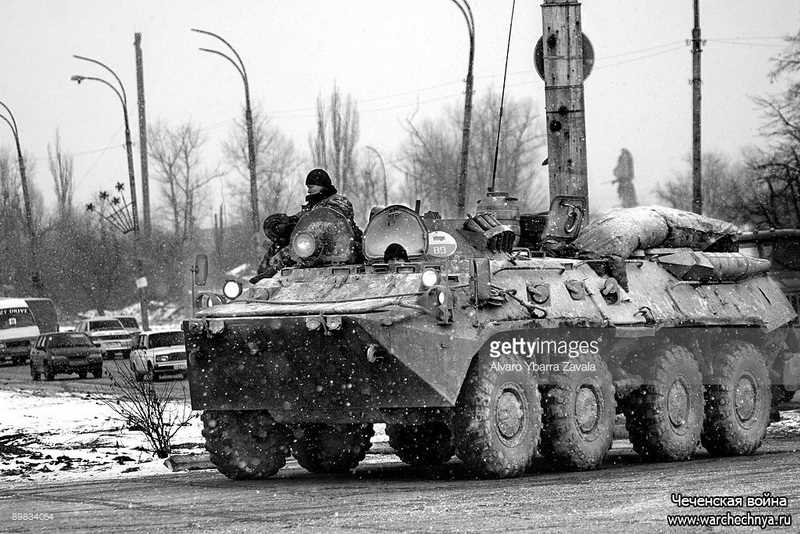 Вторая чеченская война в фотографиях западных и отечественных фотографов