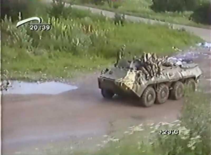 Вторая чеченская война. Командировка в Чечню. 2001 г.