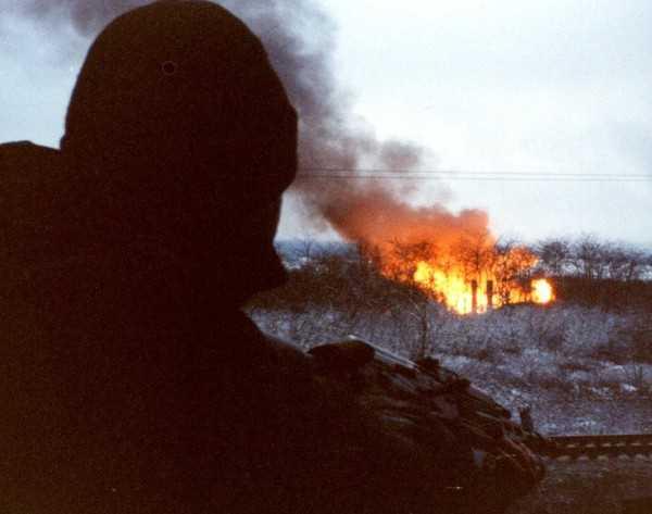 Первая чеченская война. Грозный. 13-й блокпост