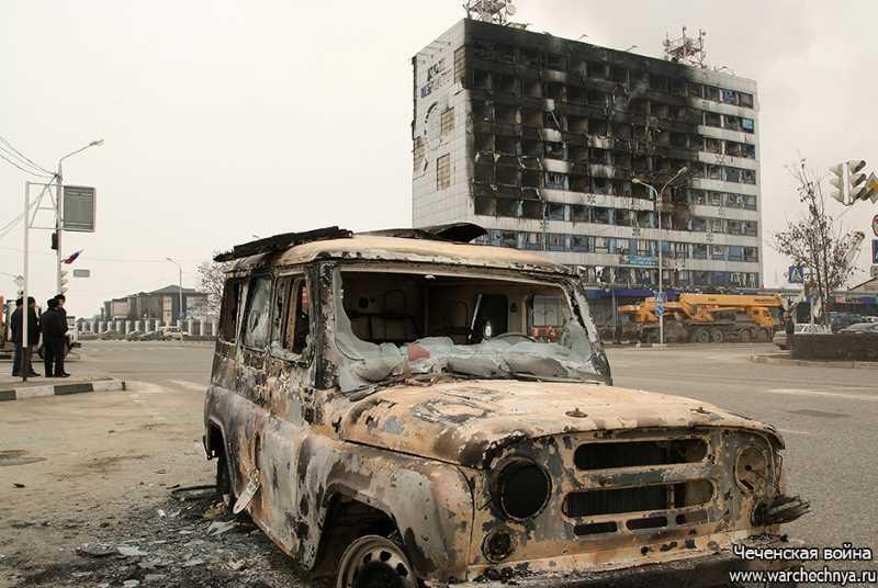 Три года назад боевики напали на Дом печати в Грозном