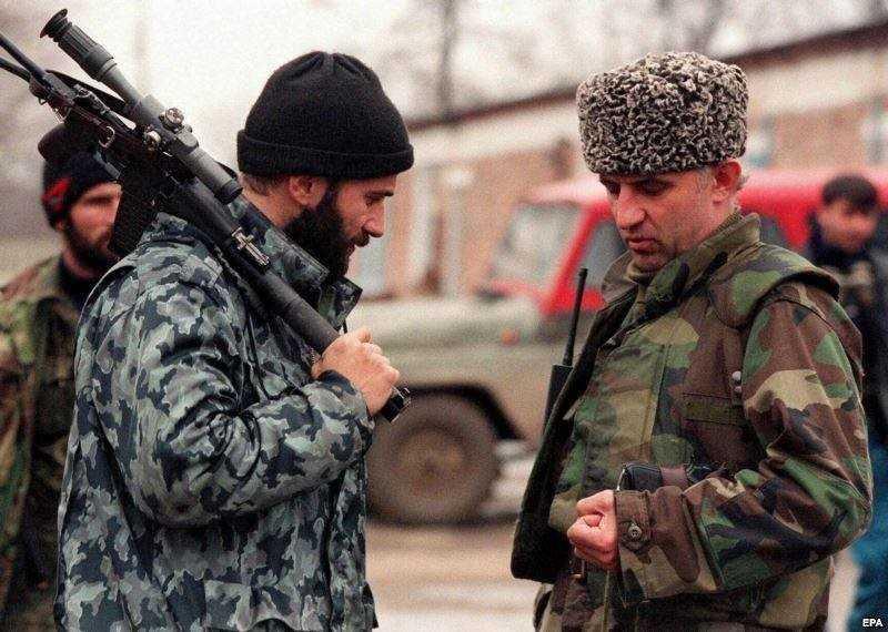 Чеченские полевые командиры