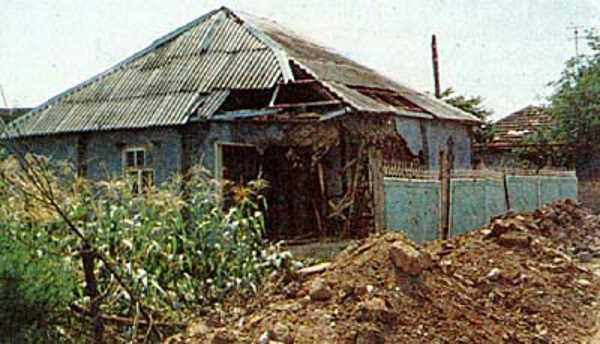 Трагедия села Самашки. Чечня. Апрель 1995.