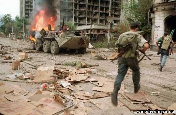 Стихи о Чеченской войне